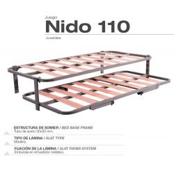 Somier nido 110