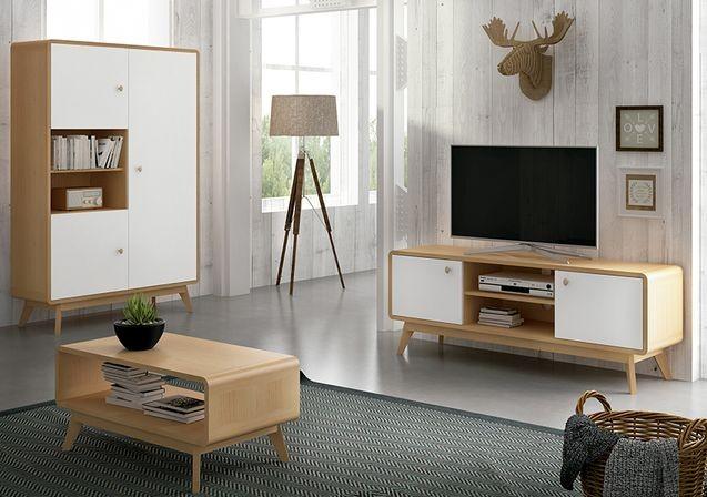 Composición de salón modelo Nórdico